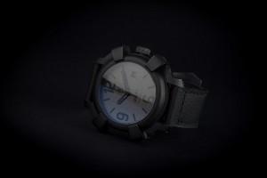 reloj automatico acero negro