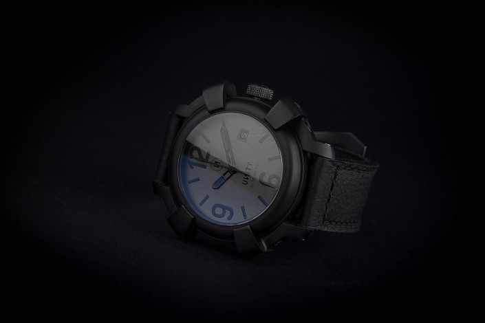 reloj acero negro