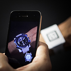 Realidad aumentada relojes