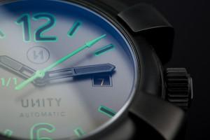 Reloj automatico unico con distintivo 1/1