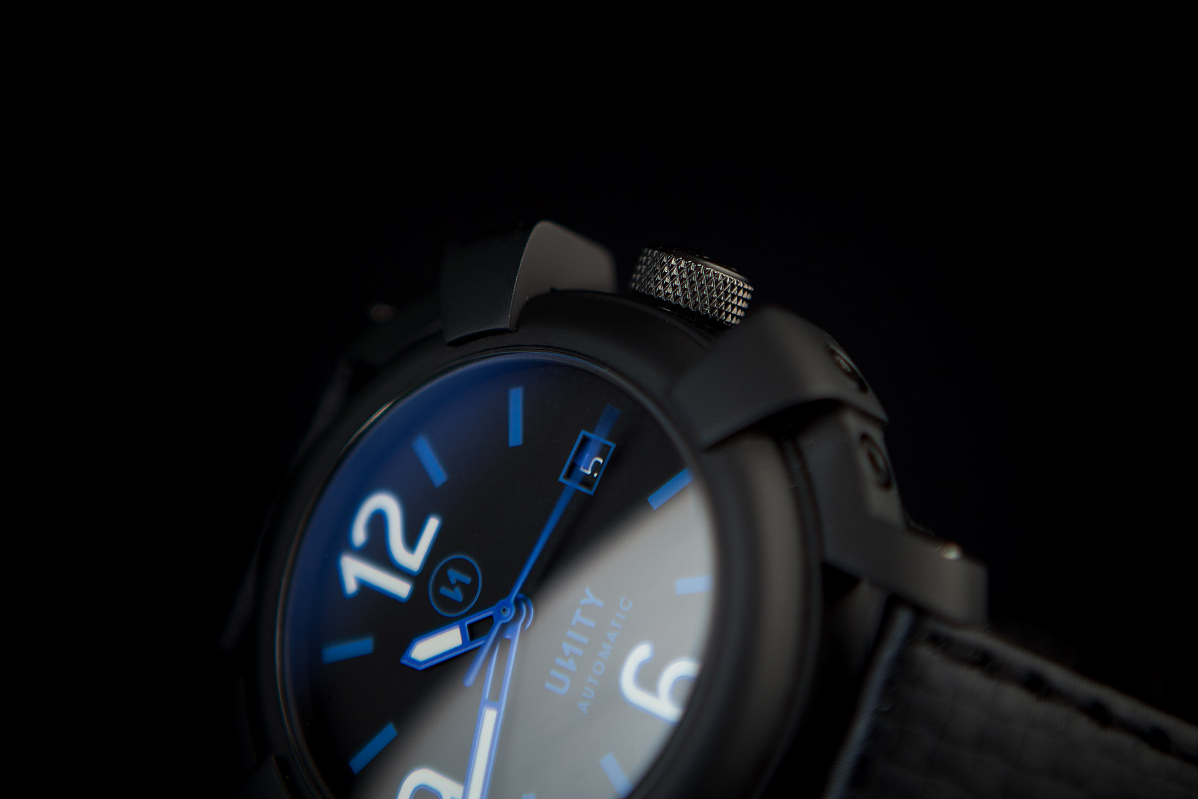 reloj all black