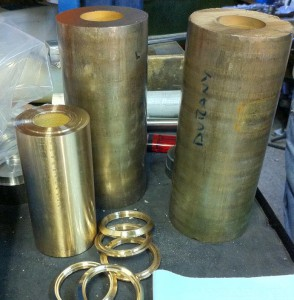 Barras de bronce aleación CuSn12
