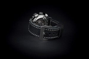 Reloj automatico acero fondo transparente zafiro