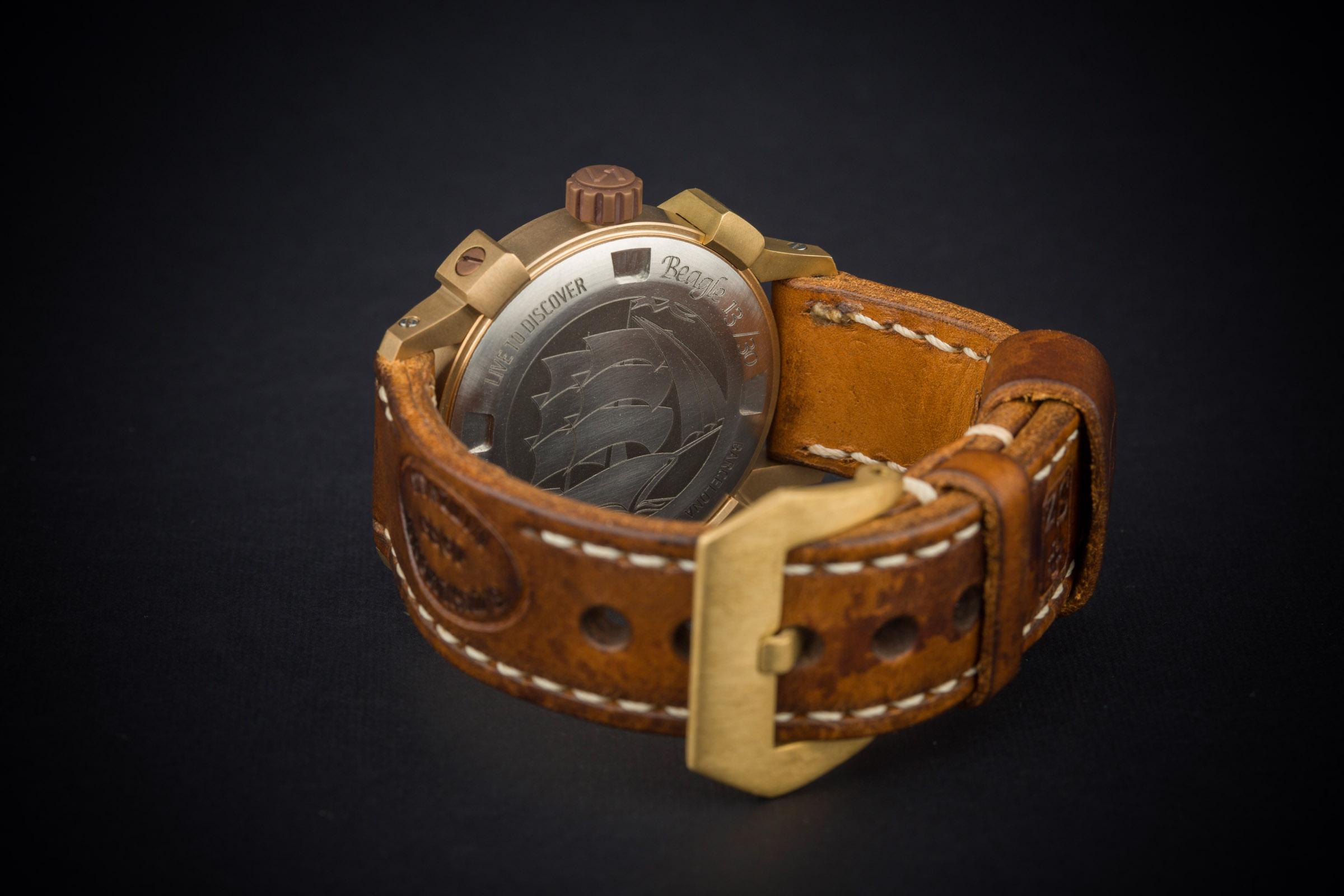 bronze green watch