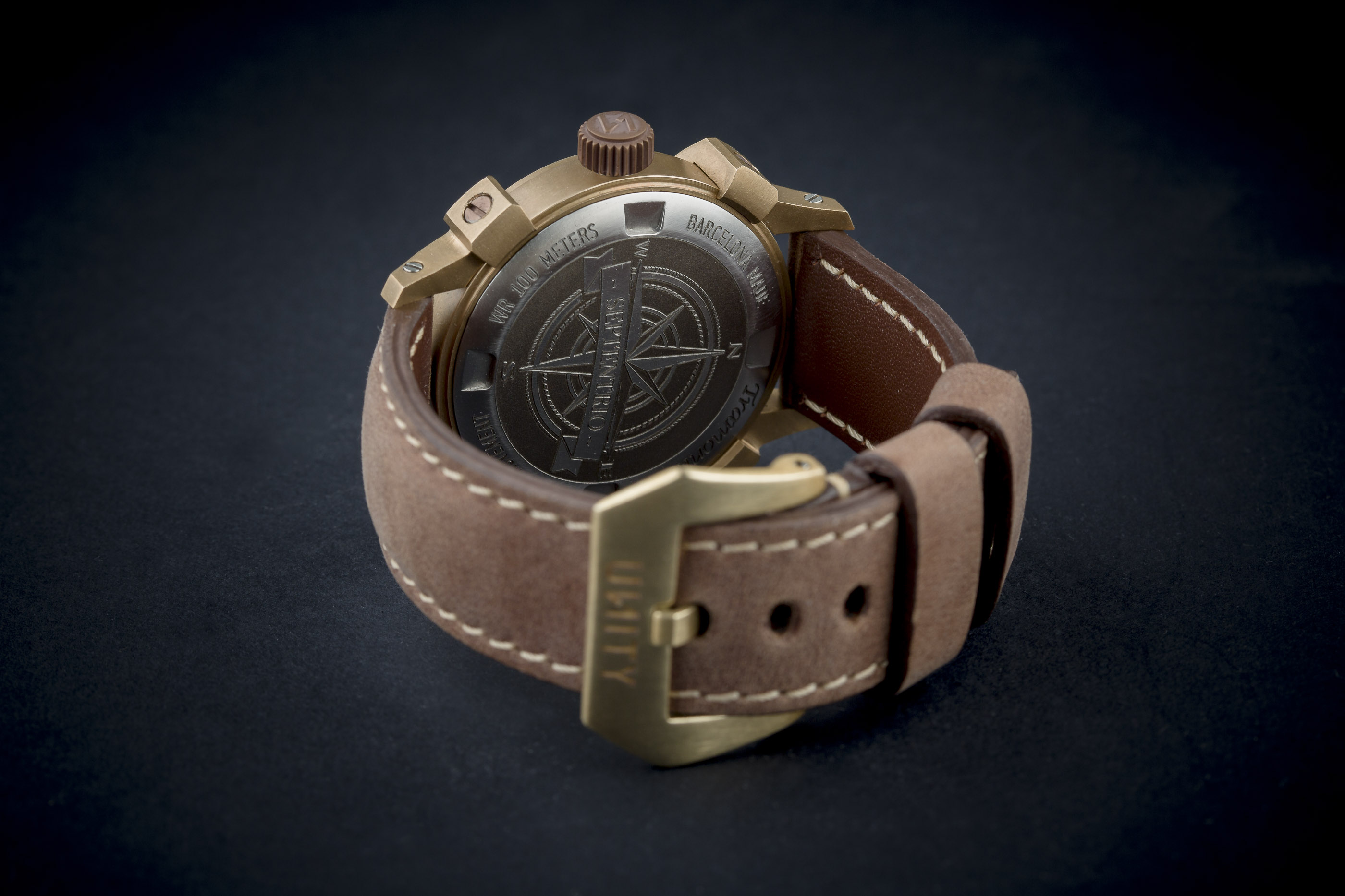correa marron jacob straps