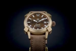 unity reloj bronce marron