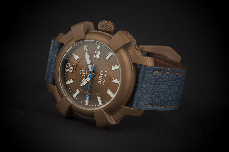 brown pvd watch
