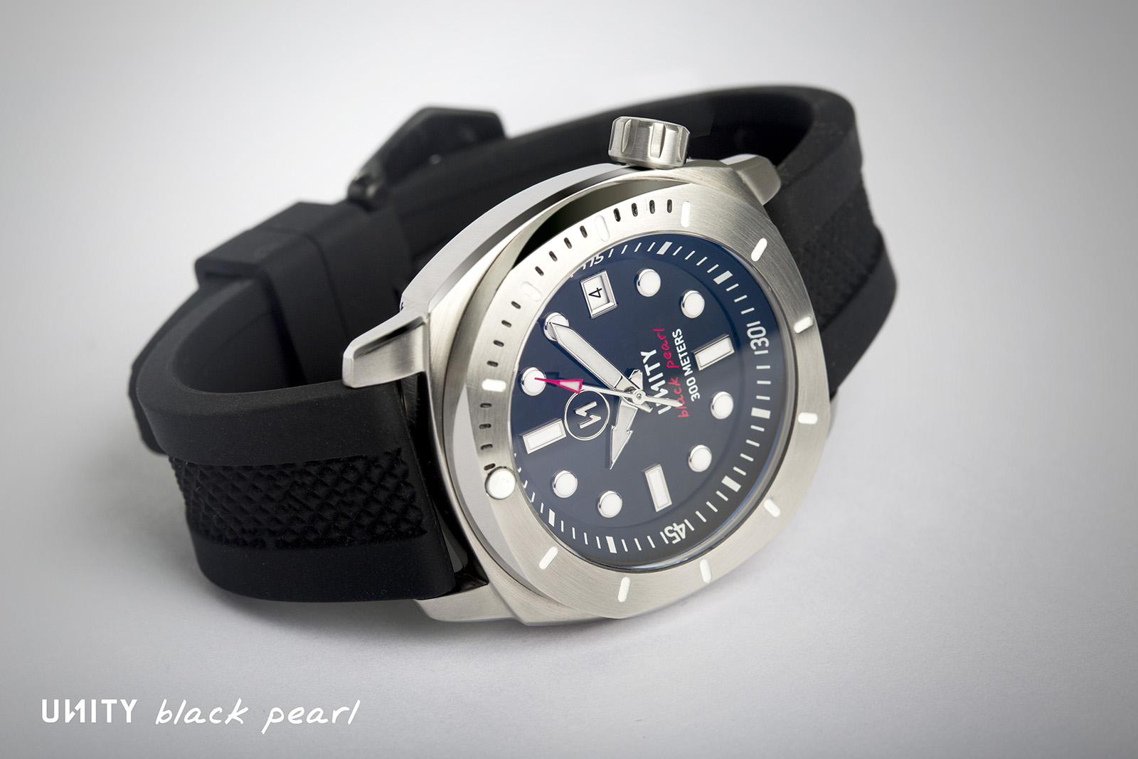 Neue uhr unity watches black pearl diver uhrforum for Under water watches