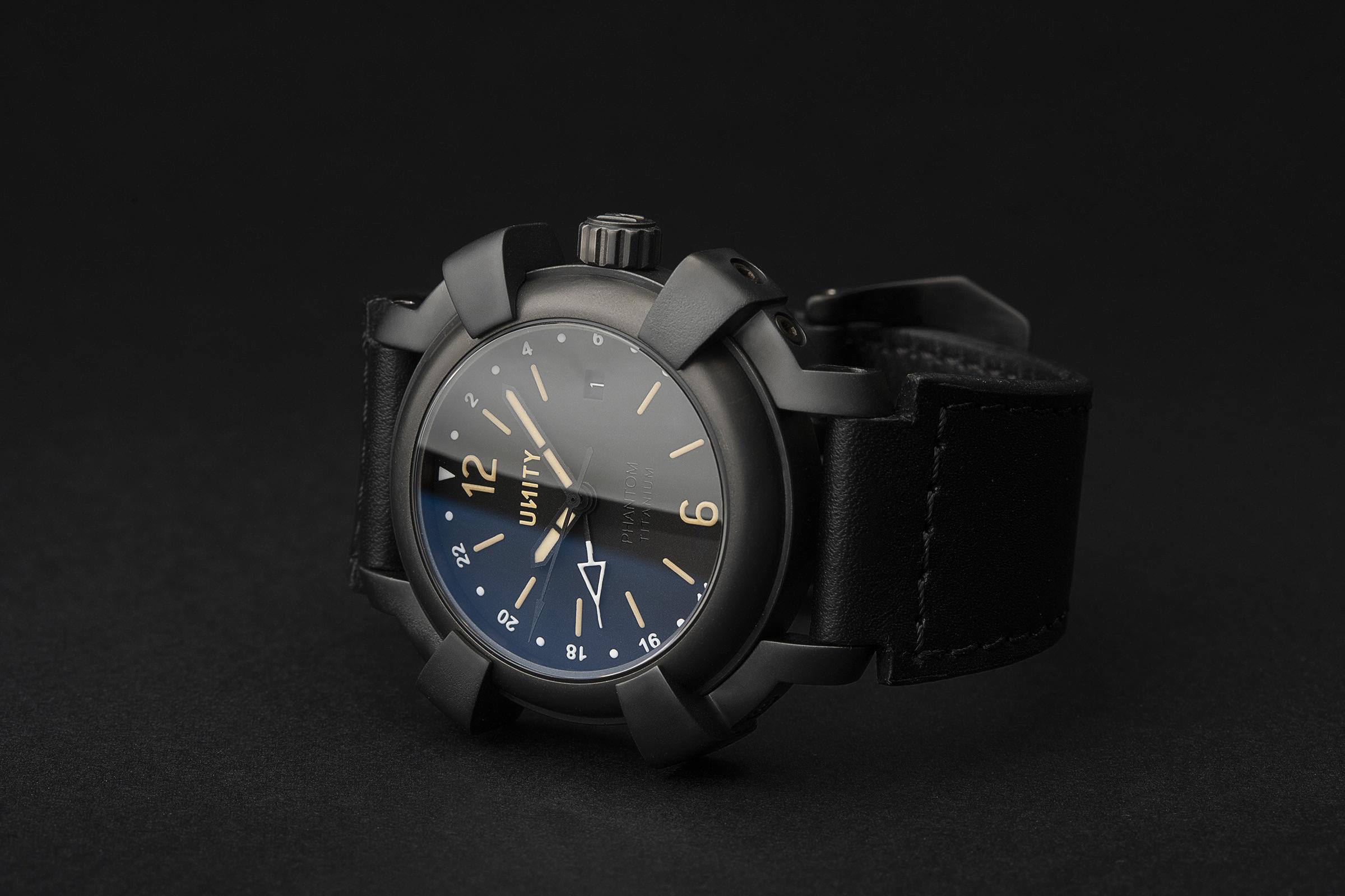 Phantom titanium DLC reloj GMT eta 2893-2
