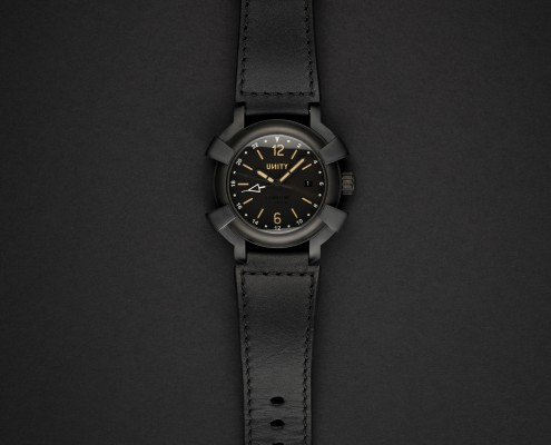 Unity titanio DLC reloj automatico GMT