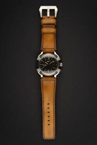 Unity titanio reloj automatico GMT