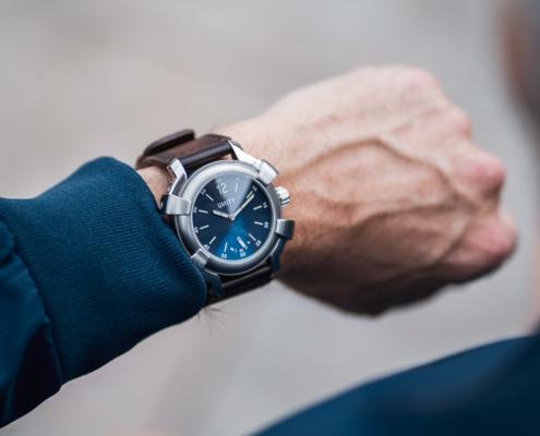 Blue Big Bang watch