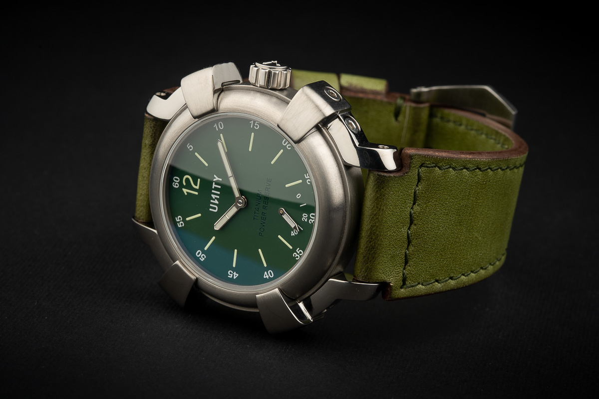 titanium watch power reserve